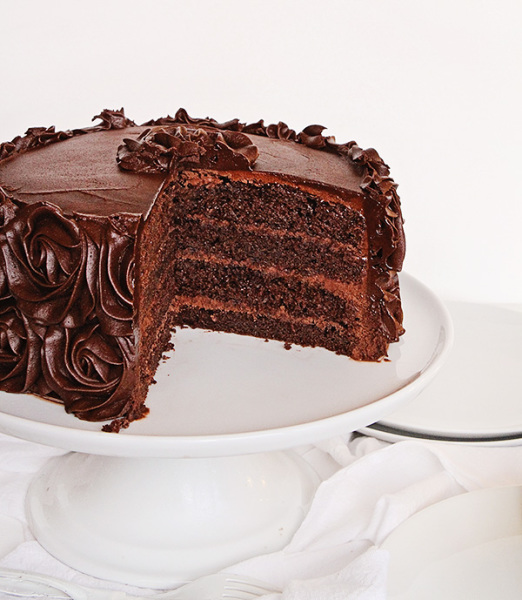 Dark Chocolate layer cake