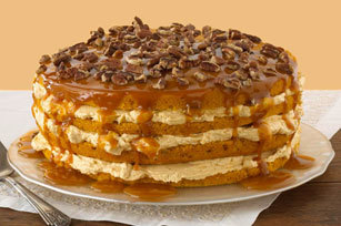 Caramel Pumpkin Layer Cake