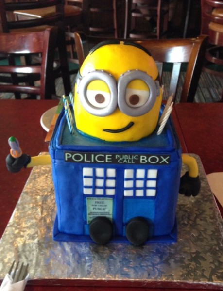 3D Tardis and Minion