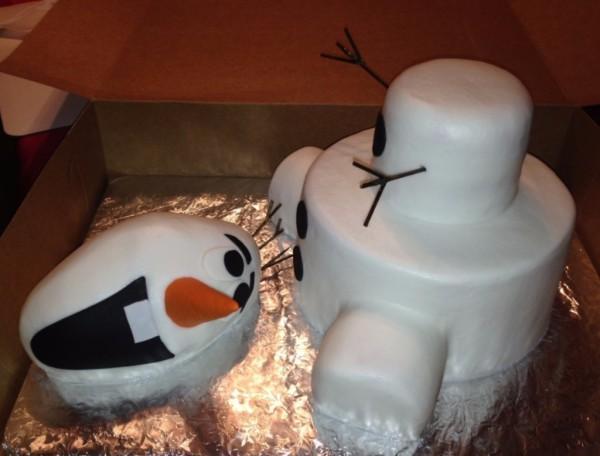 3D Olaf