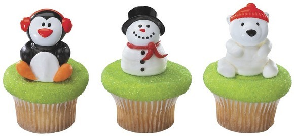 Holiday Friends Cupcakes