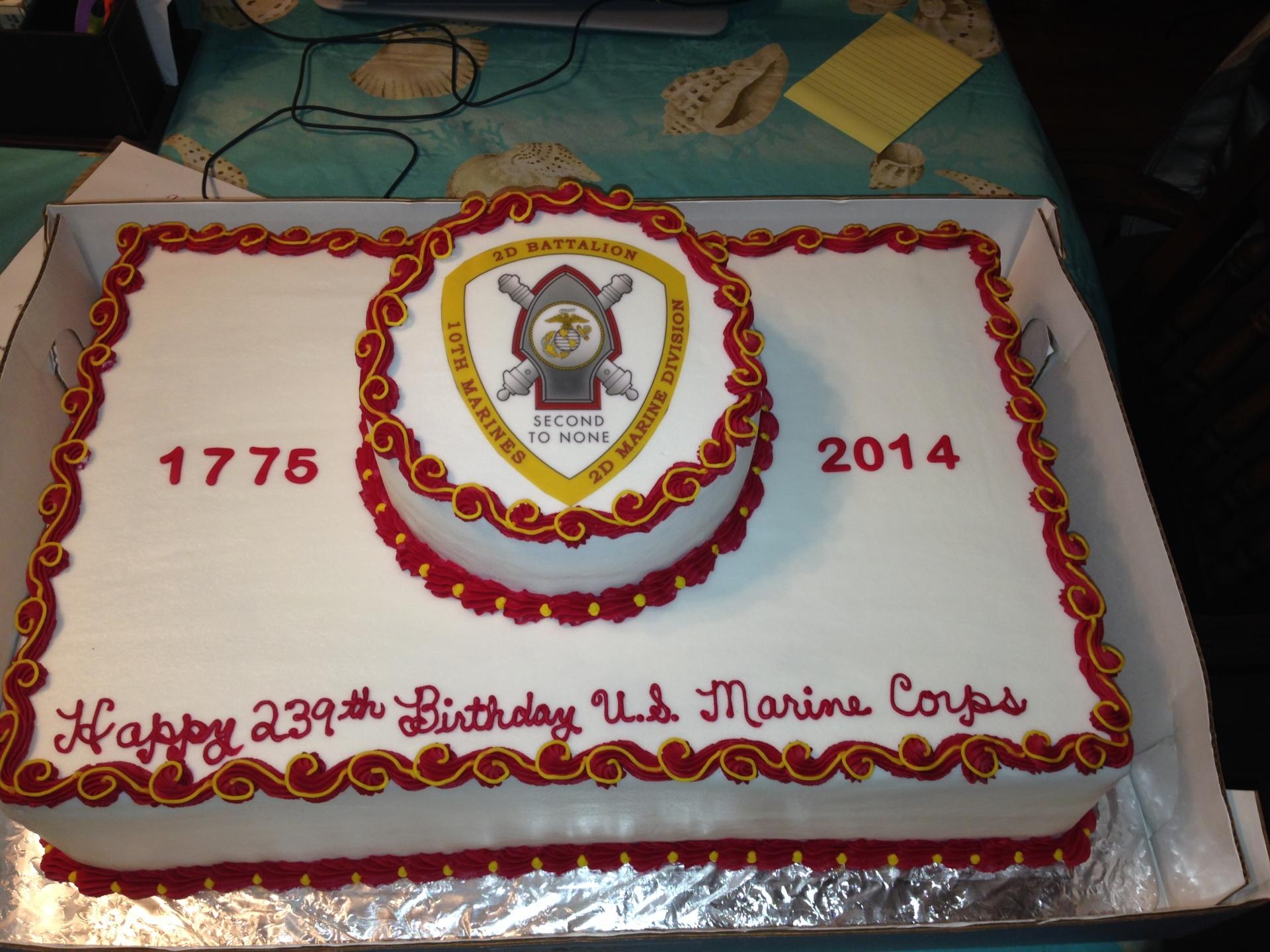 Marine Birthday 2