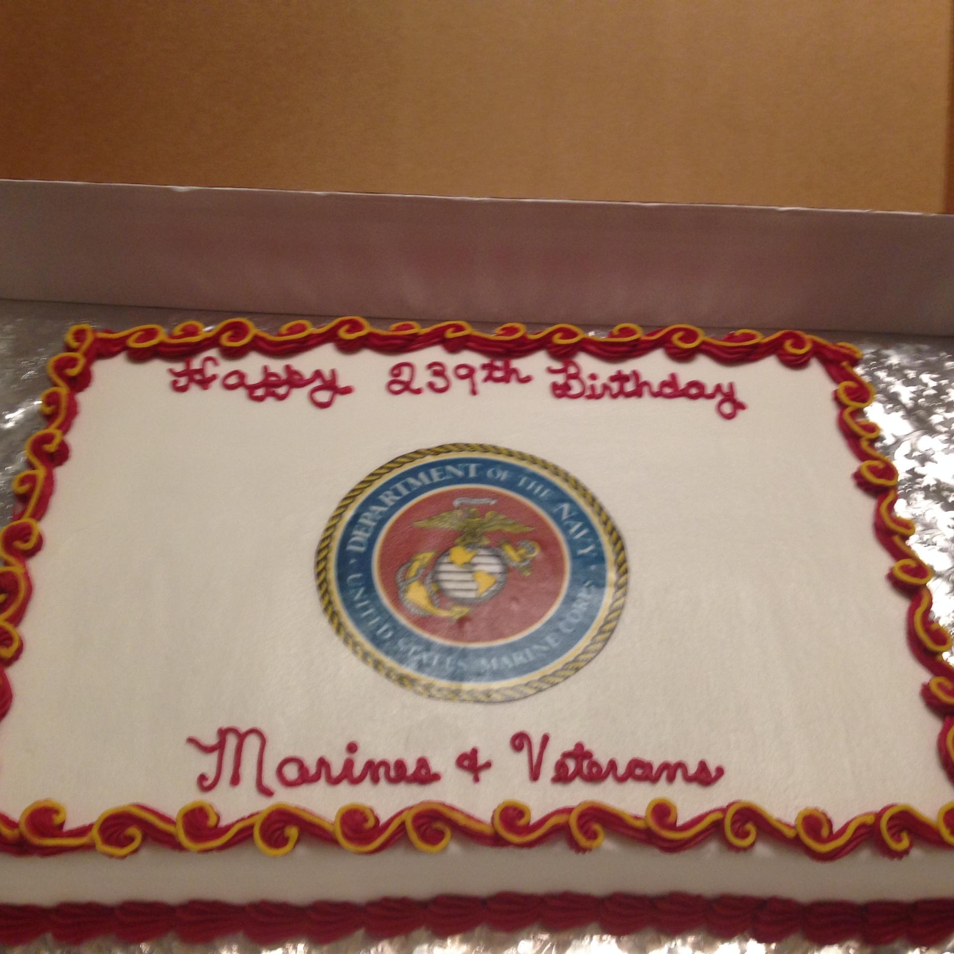 Marine Birthday 1