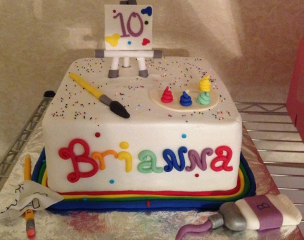 Artist Cake
