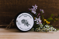 Nina's Bees all natural handmade beeswax hand balm for repairing and healing skin on hard working hands
