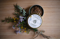 Nina's Bees all natural handmade heel and elbow lotion bar