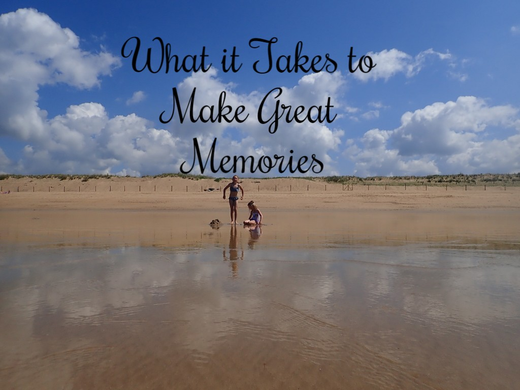 What It Takes To Make Great Memories