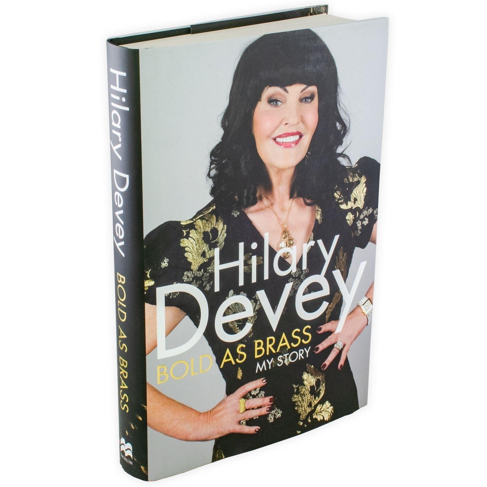 Book Review of Hilary Devey as Bold as Brass memoir from Books2Door