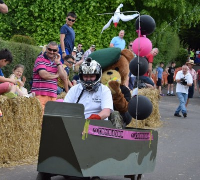 A brillant day out watching the Soap Box racing