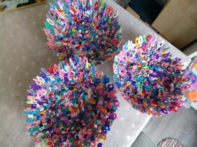 Hama bead bowls
