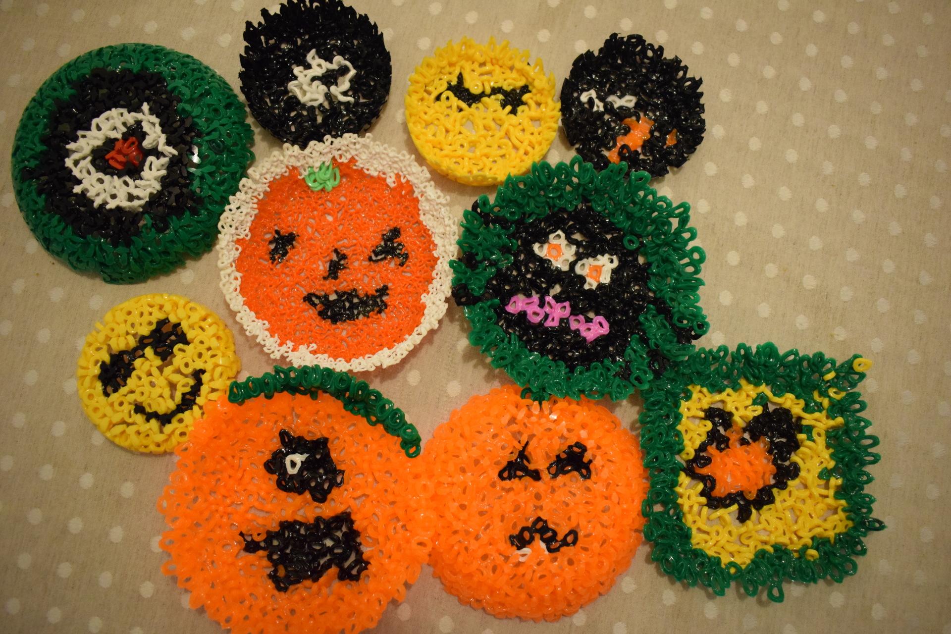 Halloween Hama Bead Crafts