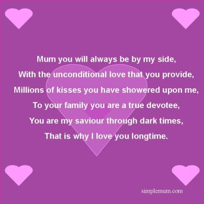 A poem for an amazing mum.