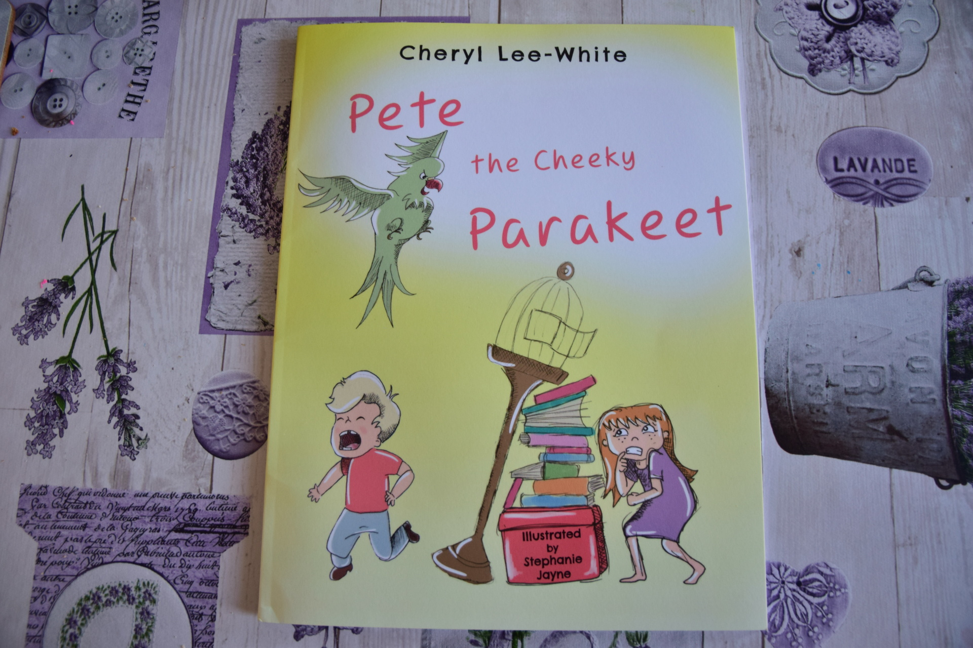 Pete the Cheeky Parakeet! My journey to getting my first children's book published