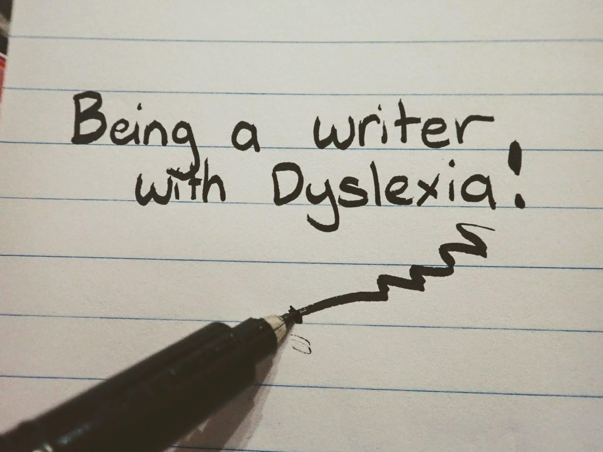 Being a writer with Dyslexia - How Dyslexia affects me and how I overcome my struggles!