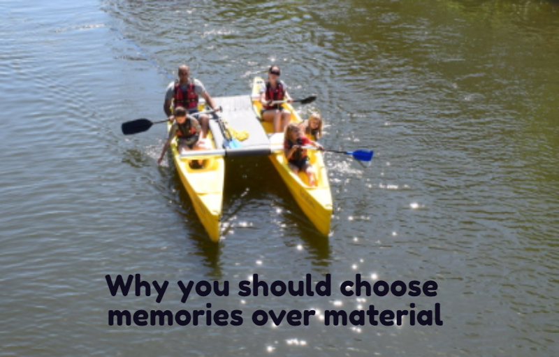 Why we should choose Memories over Material.