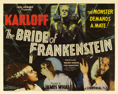 Bride of Frankenstein(1935) is Coming to the Screenland Armour in Kansas City