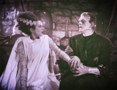 Classic Horrors Club Podcast Hosts The Monster and His Bride