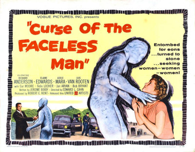 Sci-Fi Horrorfest - Curse of the Faceless Man (1958)