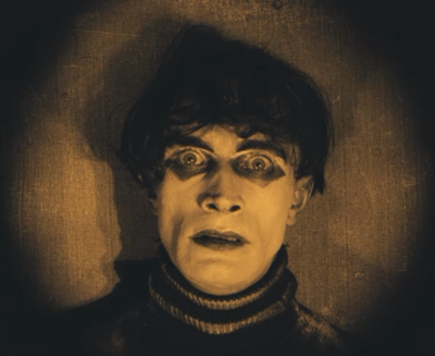 Countdown to Halloween Day 15 - Cabinet of Dr. Caligari (1921)