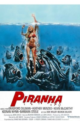 Podcasts, Piranha (1978) and More!