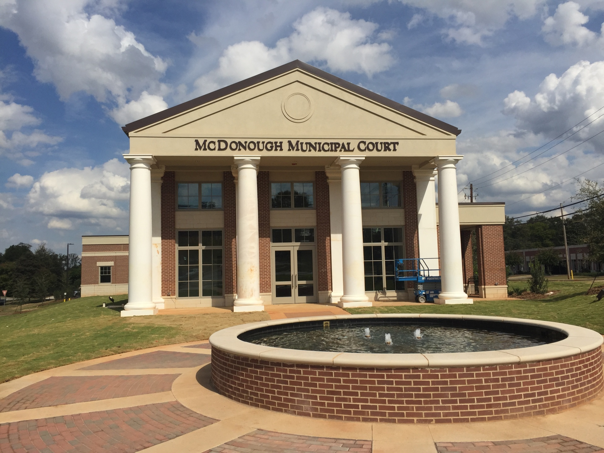 City of McDonough Court House