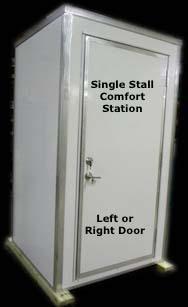 Single Stall Comfort Stations