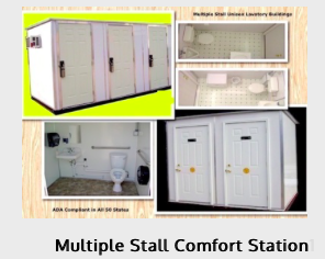 Multiple Stall Comfort Stations