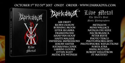 Darkadya Live Metal - Book of the World's Best Music Photographers, volume 1