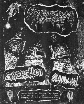 SPECTRAL VOICE WITH SUPERSTITION AND BLOODLUST - MONDAY, JUNE 20TH AT YUCCA TAP ROOM IN TEMPE, AZ