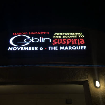 GOBLIN LIVE AND INTERVIEW WITH CLAUDIO SIMONETTI