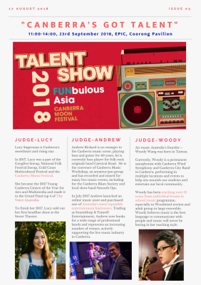 Issue 3 - How to Vote Your Favourite Talent