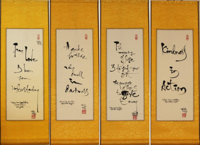 Federation of Vietnamese Association of ACT - Calligraphy and cultural corner