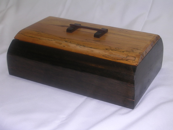 Maple Top with Ebony Handle,Ebonized Maple Box