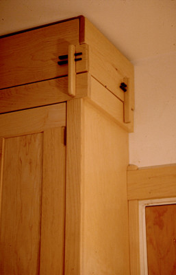 Maple Kitchen Cabinet