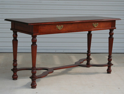 LBJ Mahogany Table, Tenth Floor Display, Reproduction