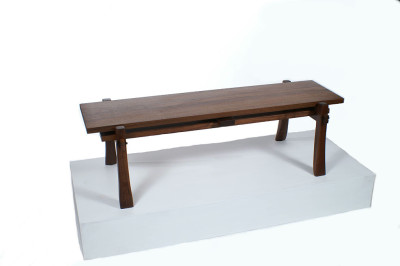 walnut,coffee table, knock down