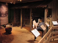 Exhibits,sets, wood faux paint,construction,woodworking