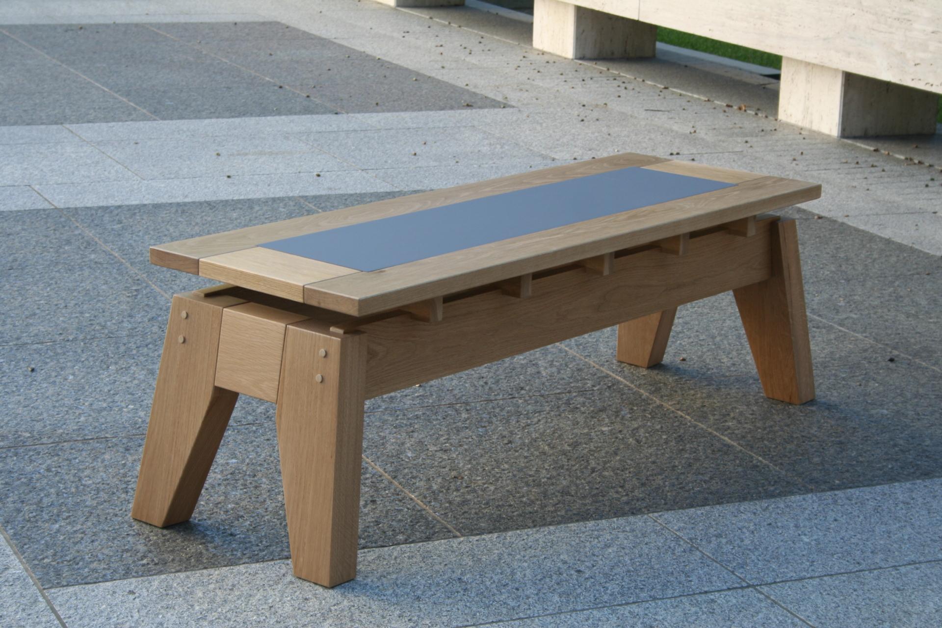 Bunshaft Bench