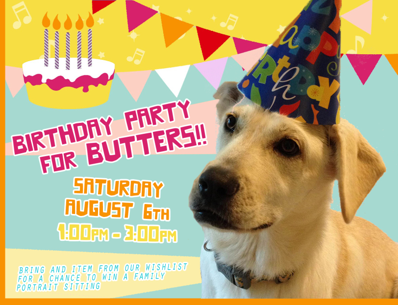 Happy Birthday Butters!