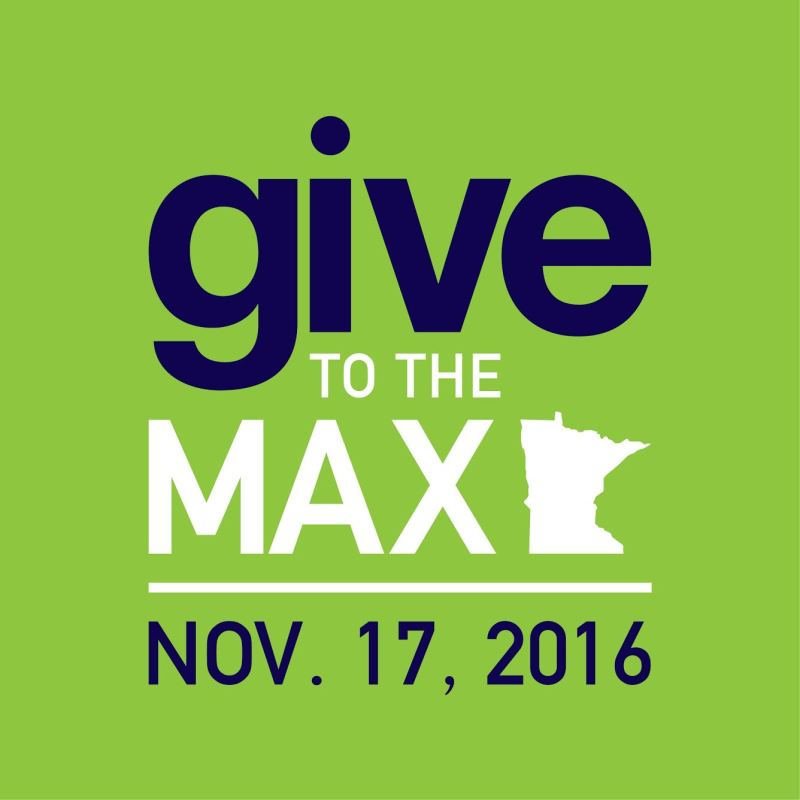 Give To The Max: $12,899.00 RAISED!!