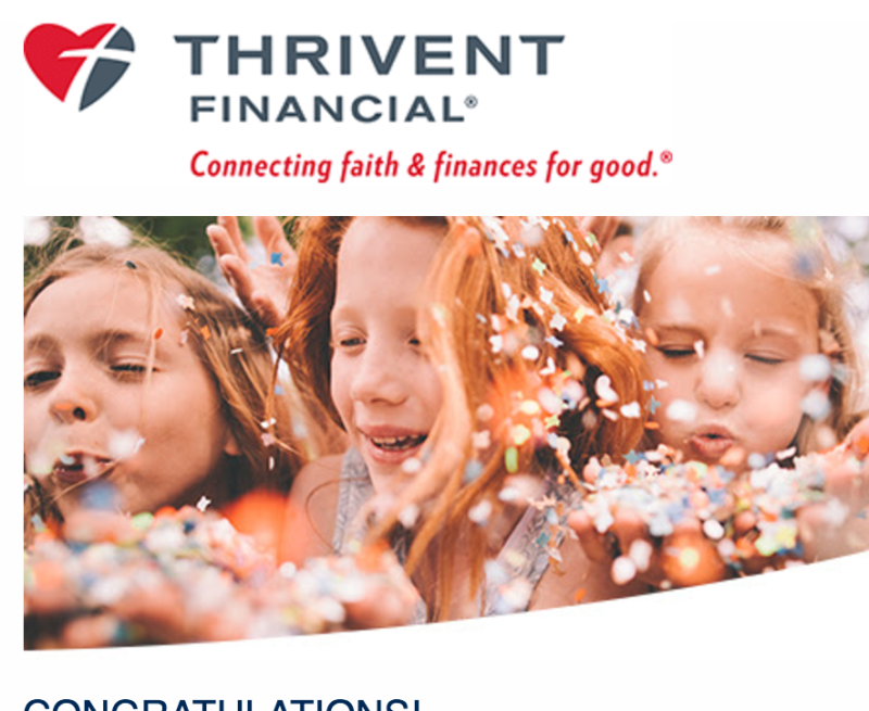 Charitable Opportunity for Thrivent Financial Customers