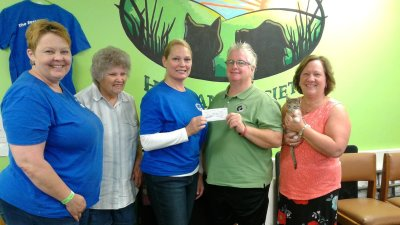 Donation from United Faribault Foundation