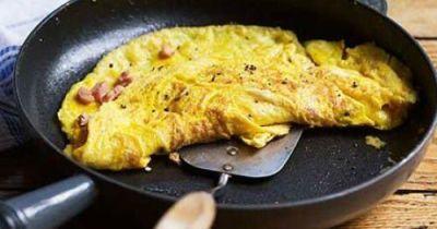 Omelet Breakfast plus Pancakes