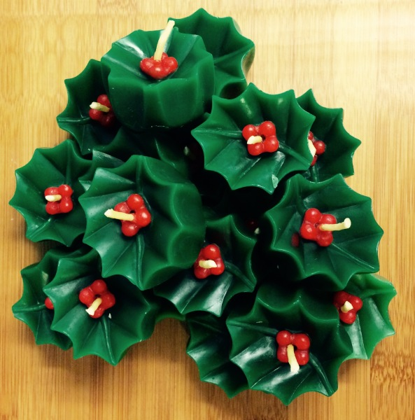 A Bunch of Christmas Holly's