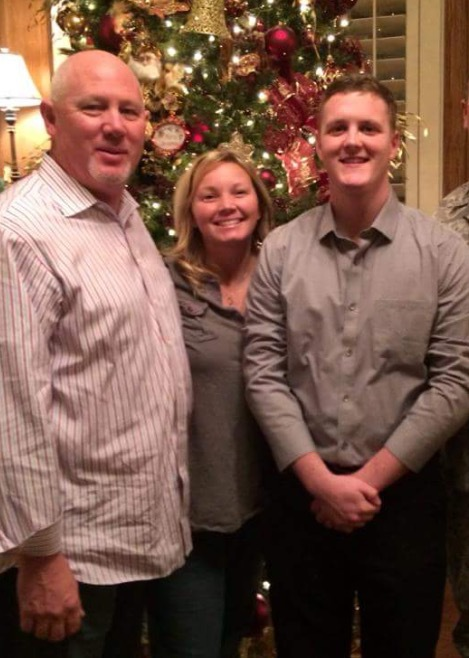 Christmas with our first Airman