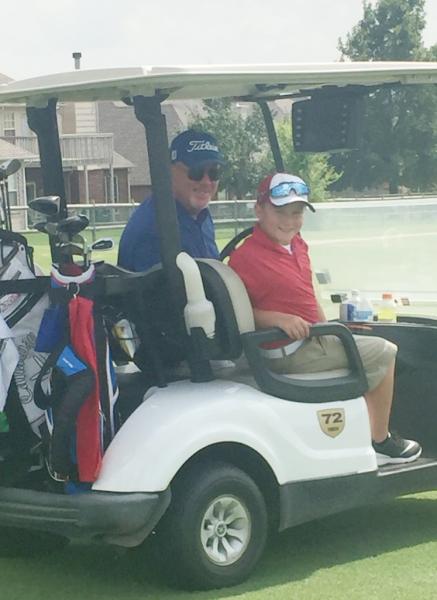 Golfing with AJ