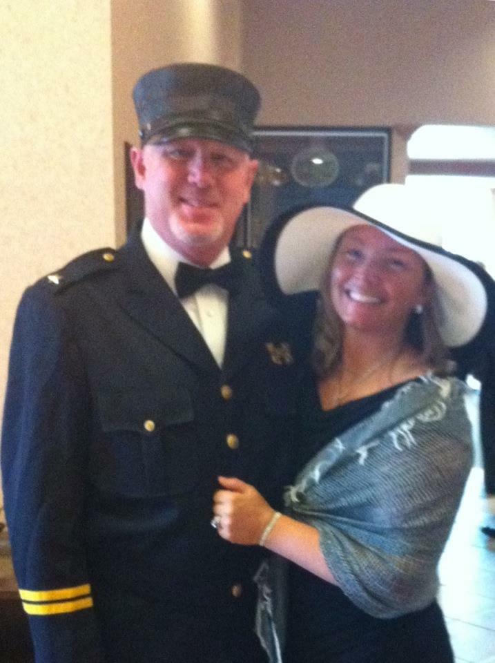 Roger and Sherri at RSC Titanic night