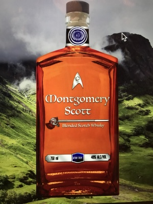 A whisky for Trekkies!