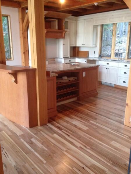 Random width flooring