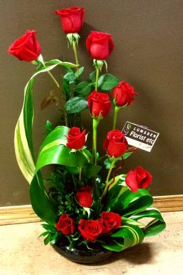 One Dozen Roses Zen Style